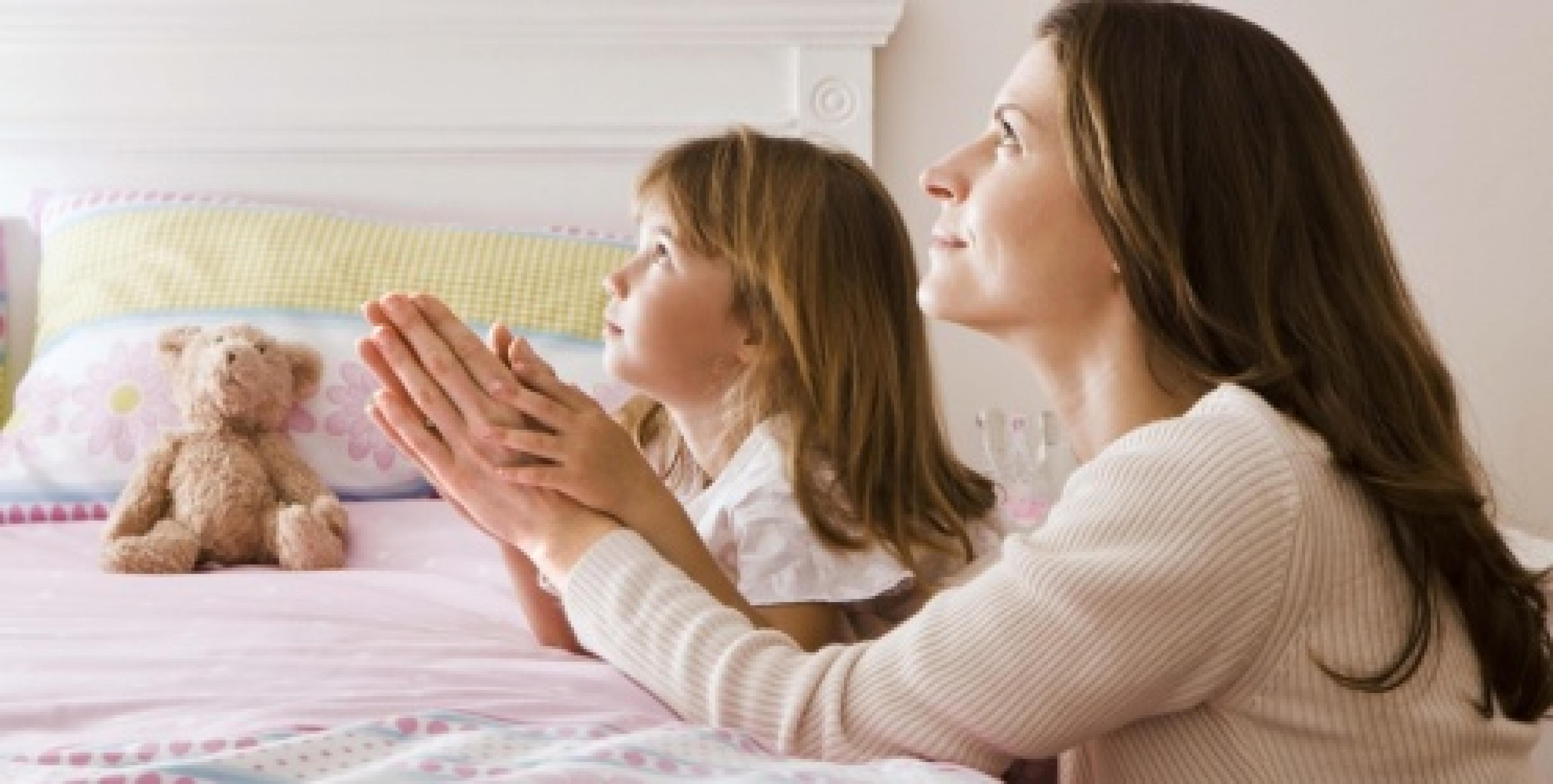 Oração Antes de Dormir Ensinamento aos filhos